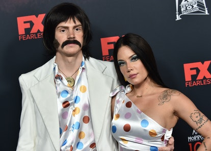 Halsey and Evan Peters. Photo via Getty Images