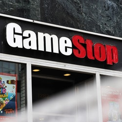 A GameStop storefront. GameStop stocks is the drama of the internet this week.