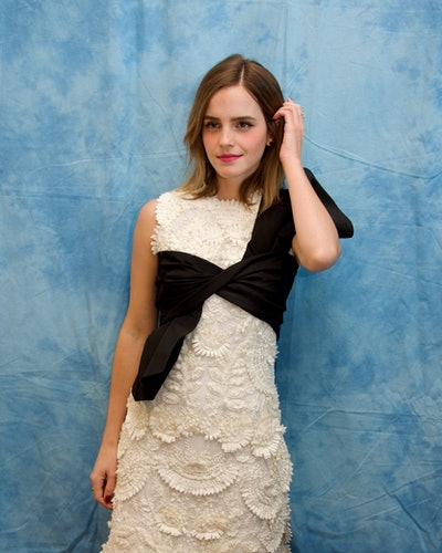 Emma Watson beauty and the beast sustainable outfits