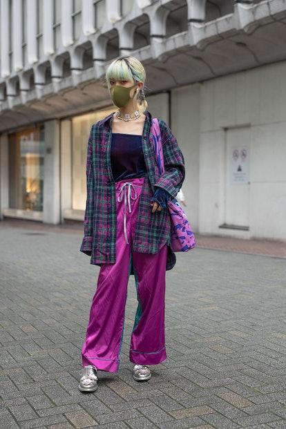 Plaid Flannel '00s Fashion Trend