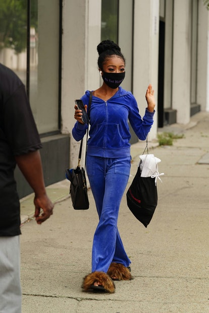 Velour Sweatsuit '00s Fashion Trend