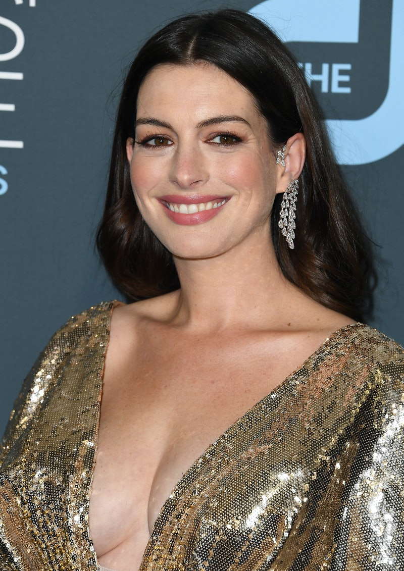 Anne Hathaway to star in Apple TV+ series 'WeCrashed.' Photo via Getty Images