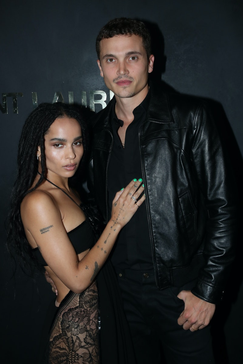 zoe kravitz filed for divorce from karl glusman