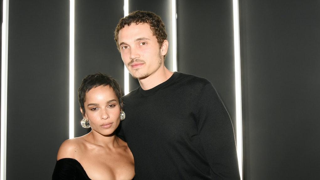 Zoë Kravitz and Karl Glusman.