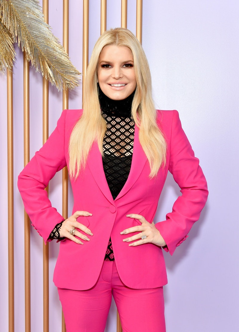 Jessica Simpson promoting her 'Open Book' memoir at Create & Cultivate Los Angeles in Feb. 2020