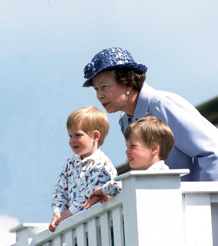Queen Elizabeth always has a smile for her grandchildren.