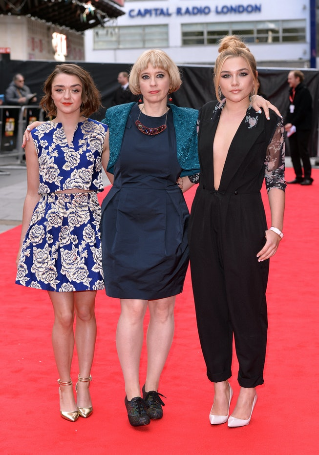 Florence Pugh at the 2014 BFI London Film Festival