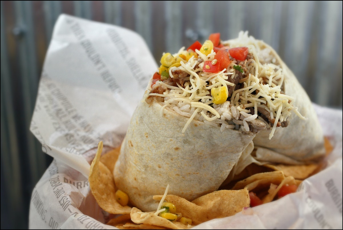 Here's how to make a Chipotle burrito at home.