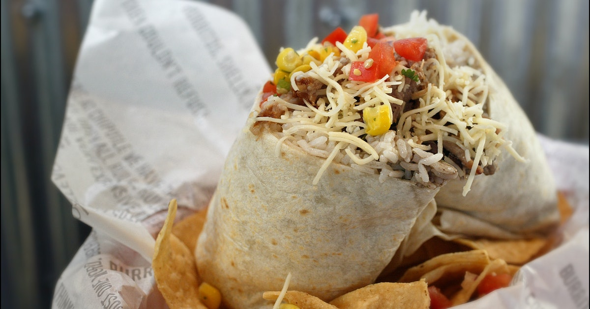 You Can Make A Chipotle Burrito At Home Using The Chain's Actual Recipes