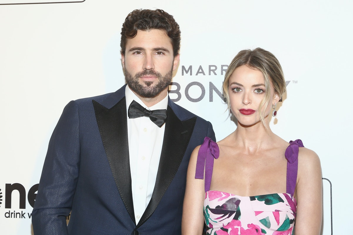 Brody Jenner and Kaitlynn Carter pose together on the red carpet.