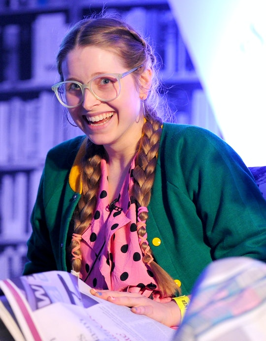 'Harry Potter' star Jessie Cave has revealed her newborn son was hospitalized after testing positive for COVID-19.