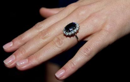 royal engagement rings duchess kate middleton
