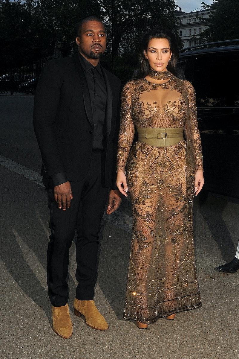 Will Kim Kardashian and Kanye West's divorce be on the family's new Hulu series? Photo via Getty Ima...