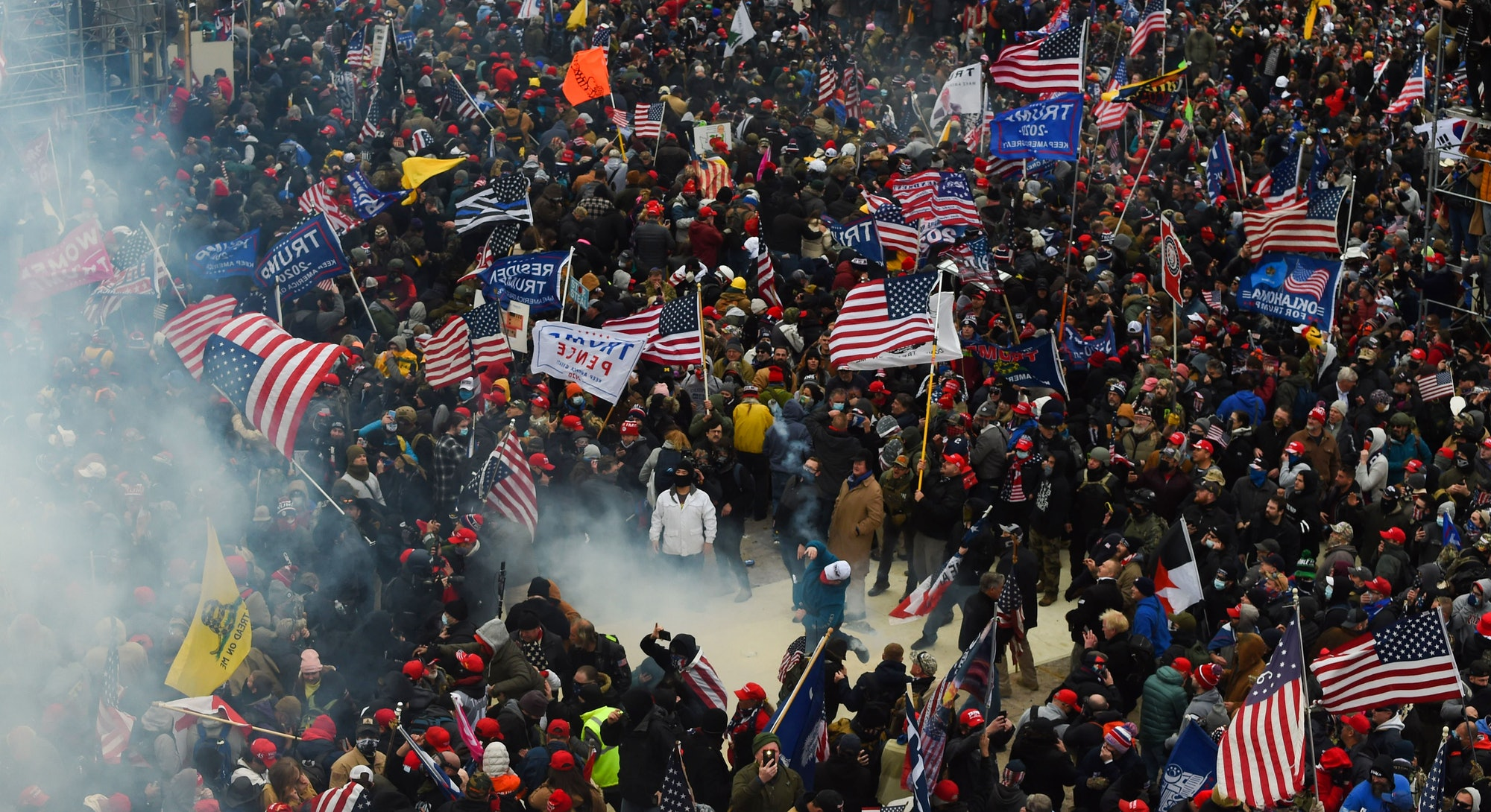 Photos of Wednesday Jan 6 Capitol Building insurrection