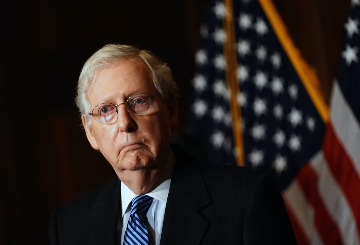 Hillary Clinton shaded Mitch McConnell with a simple tweet after the Georgia Runoffs.