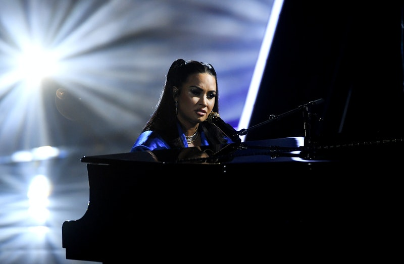 Demi Lovato teased new music inspired by the storming of the U.S. Capitol on Jan. 6