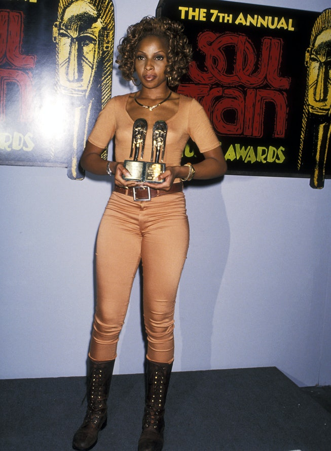 Mary J. Blige in 1993, Soul Train Music Awards