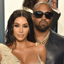 Details about Kim Kardashian and Kanye West's prenup. Photo via Getty Images