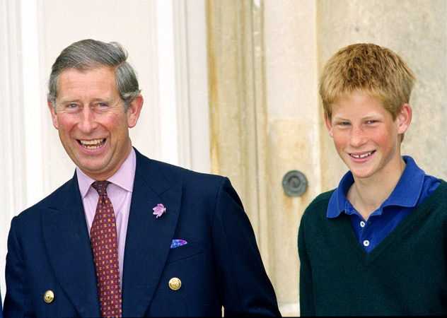 Prince Harry is growing up.