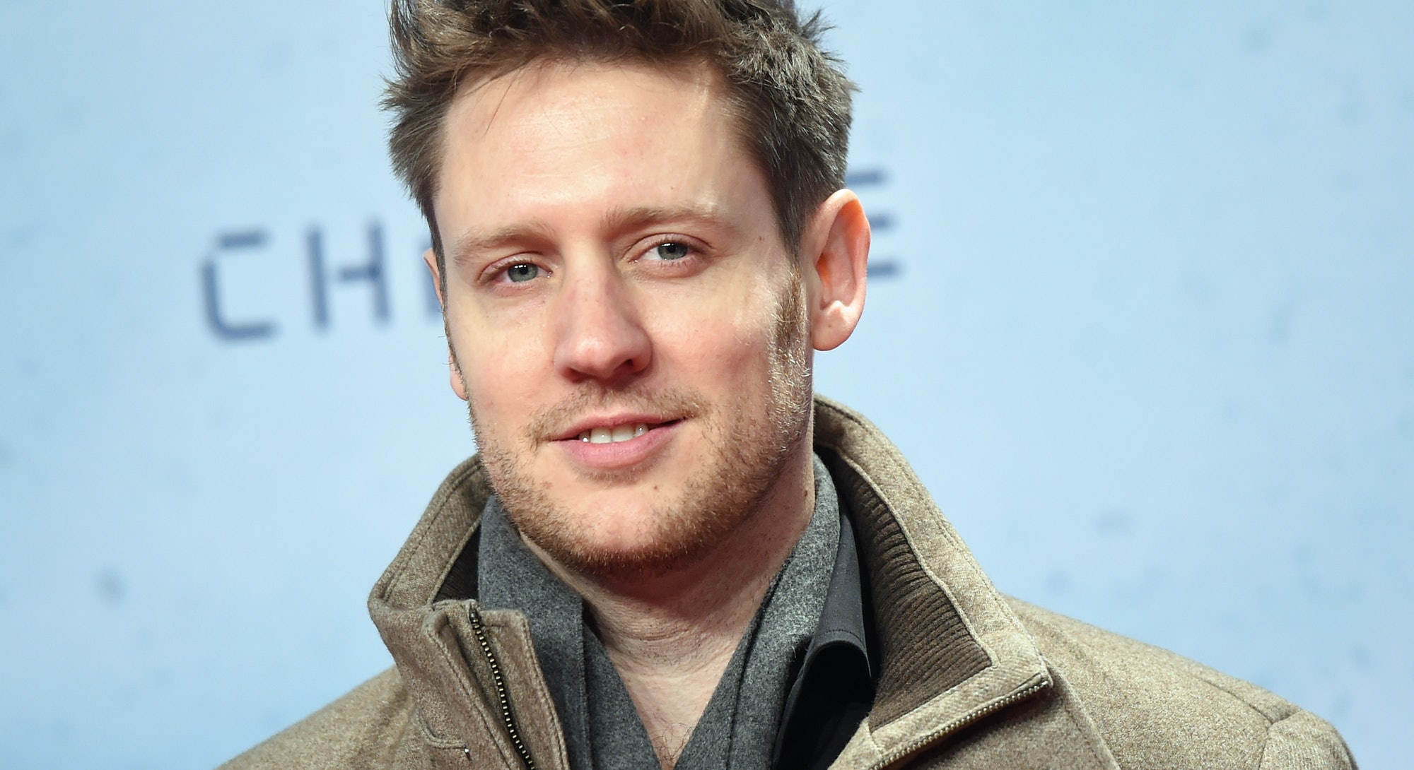 South African director Neill Blomkamp attends the fan event for his new film 'Chappie' in Berlin, Ge...