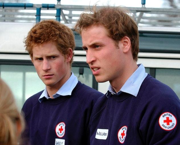 Prince Harry volunteers his time.