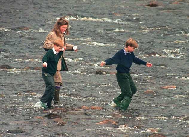 Prince Harry at Balmoral in Scotland.