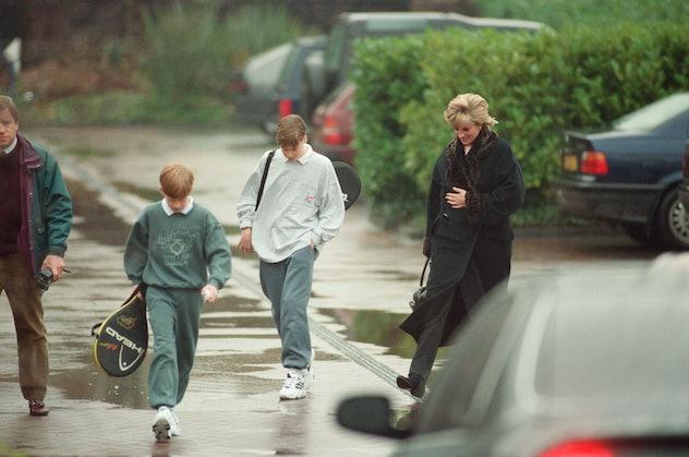 Prince Harry wearing a sweatsuit.