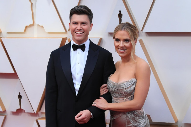 'SNL' star Colin Jost's mom didn't like his son Cosmo's name at first. Photo via Xinhua News Agency/...