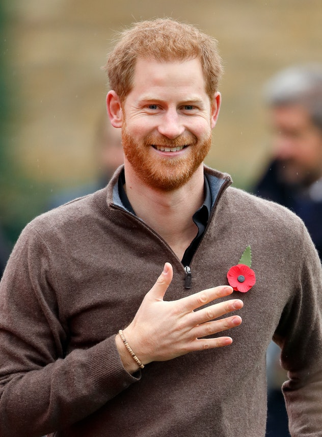 Prince Harry looked great in his sweater.