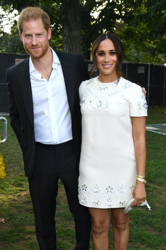 NEW YORK, NEW YORK - SEPTEMBER 25: Prince Harry, Duke of Sussex and Meghan, Duchess of Sussex attend...