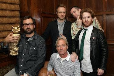 Eric Wareheim, Christopher McCulloch, Matthew Senreich, Seth Green and Head of Adult Swim Mike Lazzo...
