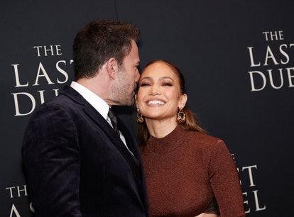 Ben Affleck and Jennifer Lopez's body language at 'The Last Duel' red carpet premiere was so in sync...