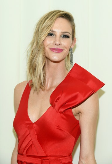 WEST HOLLYWOOD, CALIFORNIA - FEBRUARY 09: Meghan King Edmonds attends the 28th Annual Elton John AID...