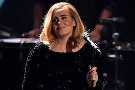 COLOGNE, GERMANY - DECEMBER 06:  Adele attends the television show 2015! Menschen, Bilder, Emotionen...