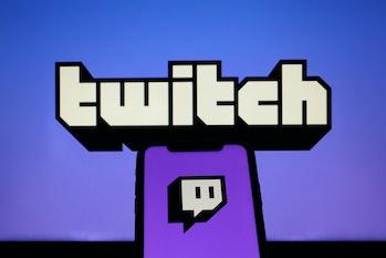 "ANKARA, TURKEY - OCTOBER 6: The logo of ""Twitch"" is displayed on a smartphone in Ankara, Turkey on O..."
