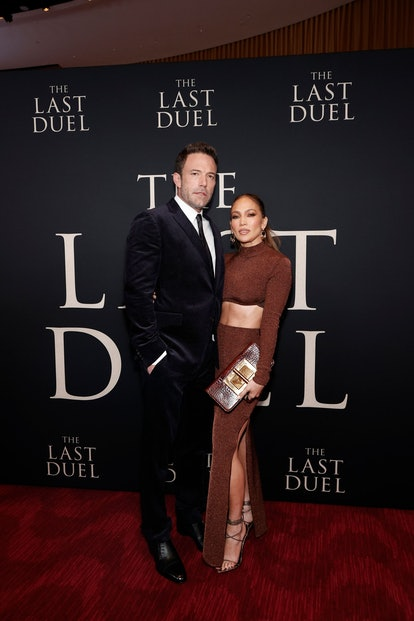 """Ben Affleck and Jennifer Lopez attend """"The Last Duel"""" New York Premiere and their body language sugg..."""