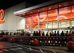 Black Friday at Exeter Target  Customers are just about to be let in.  It is about 3:58am.  Susan L....