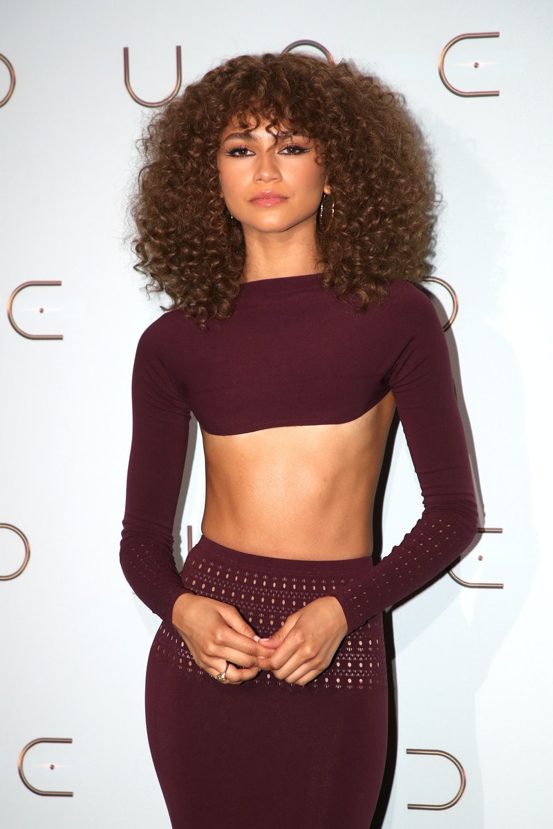Zendaya poses at a 'Dune' event in  Paris, France. (Photo by Bertrand Rindoff Petroff/Getty Images)