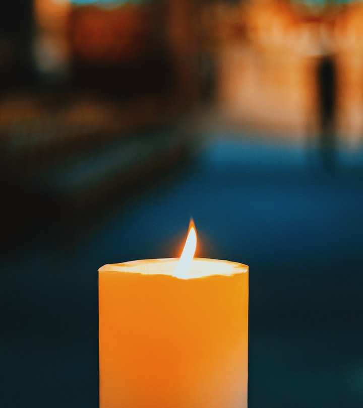 Close-Up Of Candle of St Lawrence Church in Nuremberg City, Bavaria, Franconia, Germany, Europe
