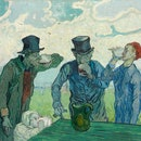 The Drinkers, 1890. Artist Vincent van Gogh. (Photo by by Heritage Art/Heritage Images via Getty Ima...