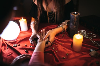 Visiting a psychic is a great date idea for Scorpio Moons.