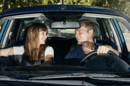 Going on a road trip is a great date idea for Sagittarius Moons.