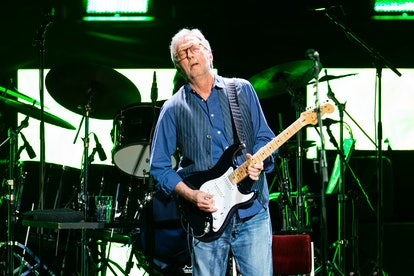 LONDON, ENGLAND - MAY 22:  (EXCLUSIVE COVERAGE) Eric Clapton performs at the Royal Albert Hall on Ma...