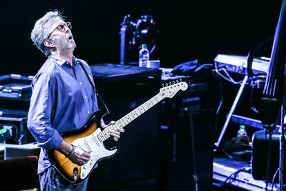 LONDON, UNITED KINGDOM - MAY 21: Eric Clapton performs on stage at the Royal Albert Hall on 21 May 2...