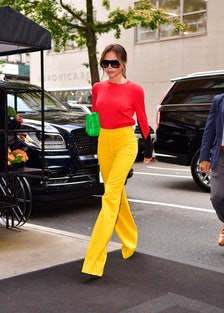 Victoria Beckham is seen on streets of the Upper East Side