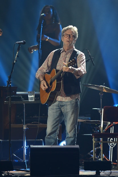 HOLLYWOOD, FL - MARCH 30: Eric Clapton performs at Hard Rock Live! in the Seminole Hard Rock Hotel &...