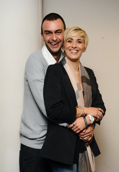 Joe Gilgun and Vicky McClure, stars of new series 'This Is England 86', are seen at the BFI in Londo...