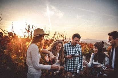 When visiting a winery, use these wine captions for Instagram along with your best Merlot and Rose p...