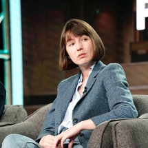 PASADENA, CALIFORNIA - JANUARY 17: Sally Rooney speaks onstage during the Hulu Panel at Winter TCA 2...