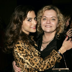 Brittany Murphy and her mother Sharon Murphy (Photo by J. Vespa/WireImage)